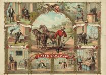 """I feed you all!"" lithograph by American Oleograph Co., Milwaukee, c. 1875. (Lib"