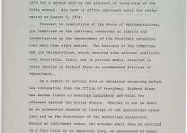 Gerald Ford, Granting pardon to Richard Nixon: A Proclamation, September 8, 1974