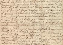 Isaac Merrill to John Currier, April 19, 1775 (GLC00303)