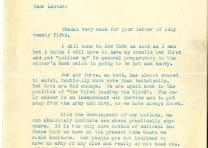 William E. Mitchell to Lester D. Gardner, July 26, 1924 (Gilder Lehrman Collecti