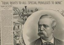 People's Party campaign poster, 1892. (Library of Congress)