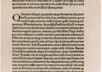 Christopher Columbus' letter to Ferdinand and Isabella, 1493. Gilder Lehrman Col