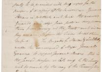 Henry Knox, Order of march to Trenton, December 26, 1776 (Gilder Lehrman Collect