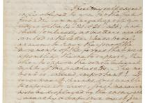 George Washington to Henry Knox, February 3, 1787. (Gilder Lehrman Collectio