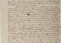 George Washington to Henry Knox, April 1, 1789. (GLC02437.09419)