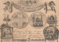 [Abstinence pledge card], September 23, 1842 (Gilder Lehrman Collection)