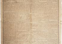 Washington's Farewell Address, Hartford, CT, [1800]. (GLC02557)