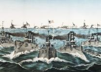 Our Victorious Fleets in Cuban Waters, 1898. (GLC03534)