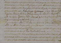 Posting bond for manumission of a slave, May 5, 1757 (Gilder Lehrman Collection)