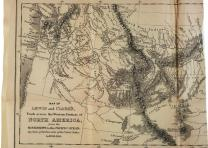 A Map of the Louisiana Territory, 1814. (Gilder Lehrman Collection)
