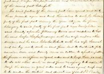 [Freedmen's contract between Isham G. Bailey and freedmen Cooper Hughs and Charl