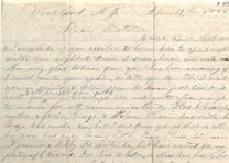 Mary E. Tillotson to her sister, April 12, 1866 (GLC04558.173)