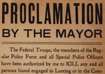 Eugene E. Schmitz, Proclamation by the Mayor broadside, April 18, 1906. (Gilder