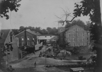 Merchants Cotton Mill, ca. 1861-1865 (Gilder Lehrman Institute)