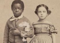 Issac & Rosa, Slave children from New Orleans, 1863 (GLC05111.02.1051)
