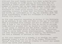 Israel Goldstein to John D. Buchanan, September 13, 1967. (GLC05508.111)