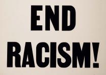Honor King: End Racism! broadside, April 8, 1968. (Gilder Lehrman Collection)