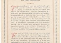 Abraham Lincoln, Gettysburg Address, November 19, 1863 (Gilder Lehrman Collectio