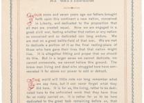 Abraham Lincoln, Gettysburg Address, November 19, 1863 (Gilder Lehrman Collectio