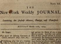 John P. Zenger, New-York Weekly Journal, March 11, 1733[/4] (GLC08724p3)