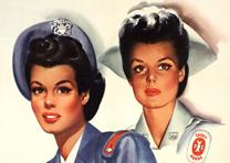 """Be a Cadet Nurse,"" United States Public Health Service, 1944. (GLC09520.04)"