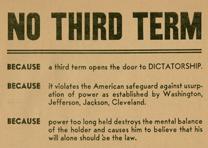 Republican Party campaign poster, 1940 (GLC09545)