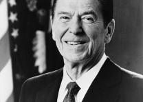 Ronald Reagan, official White House photograph, 1981 (Library of Congress Prints