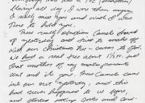 Brett G. Coughlin to Kit, December 26, 1990 (Andrew Carroll/The Legacy Project)