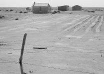 Abandoned farm in the Dust Bowl, Dalhart Texas, by Dorothea Lange