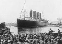 RMS Lusitania in New York, 1907 (Library of Congress Prints and Photographs Divi