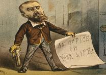 Charles Guiteau, Puck, July 13, 1881 (Library of Congress Prints and Photographs