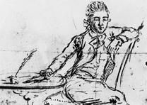 A self-portrait of John Andre, October 1, 1780 (George Dudley Seymour Papers, 16