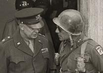 General Eisenhower in Germany, April 12, 1945 (Library of Congress)