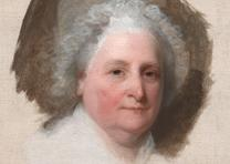 Martha Washington, by Gilbert Stuart, 1796 (National Portrait Gallery, Smithsoni