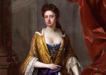 Queen Anne, by Michael Dahl, 1705 (National Portrait Gallery, NPG 6187)