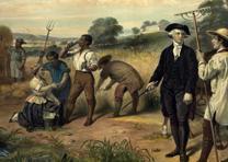"""Life of George Washington--The farmer,""  by Jumius Brutus Stearns (LOC)"
