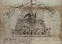 Patent signed by James Buchanan, May 28, 1846. (Gilder Lehrman Collection)