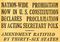 Official US Bulletin, January 29, 1919. (GLC01668)