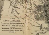 A map from History of the Expedition under the Command of Lewis and Clark. (GLC)