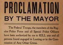 Proclamation by the Mayor, San Francisco, CA, April 18, 1906 (GLC 04967.01)