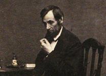 Abraham Lincoln, n.d., by Mathew Brady (Gilder Lehrman Collection)