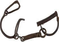 Slave leg chain, ca. 1840-1850. (Gilder Lehrman Collection)