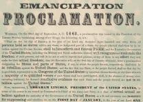 Emancipation Proclamation (Chicago: Rufus Blanchard, ca. 1863–64) (GLC05508.272)