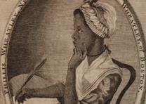 Frontispiece from Phillis Wheatley's Poems on Various Subjects, Religious and Mo