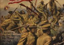 Detail from a World War I recruiting poster, ca. 1917. (Gilder Lehrman Collectio