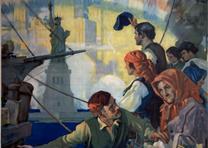 Detail from a World War I poster. (GLC09522)