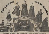 """The Life and Age of Woman,"" by A. Alden, Barre, MA, ca. 1835. (LC-DIG-pga-0350)"