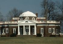 Monticello, Charlottesville, VA, ca. 1978. (Library of Congress, P&P, HABS)