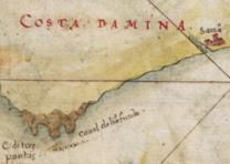 """""""Taboas geraes de toda a navegação"""" by João Teixeira Albernaz, 1630. (LOC Maps)"""