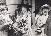 Jeannette Rankin, Washington DC, 1917. (Courtesy of Wendy Chmielewski and Jill N